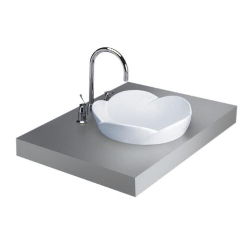 Chậu Rửa Lavabo COTTO C0001 Fleur Dương Bàn