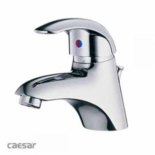 Vòi Nóng Lạnh Lavabo CAESAR B150CP Bộ Xả Ty Nhựa