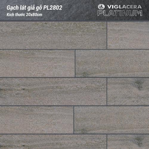 Gạch lát nền vân gỗ Platinum PL28-02 (20x80cm)